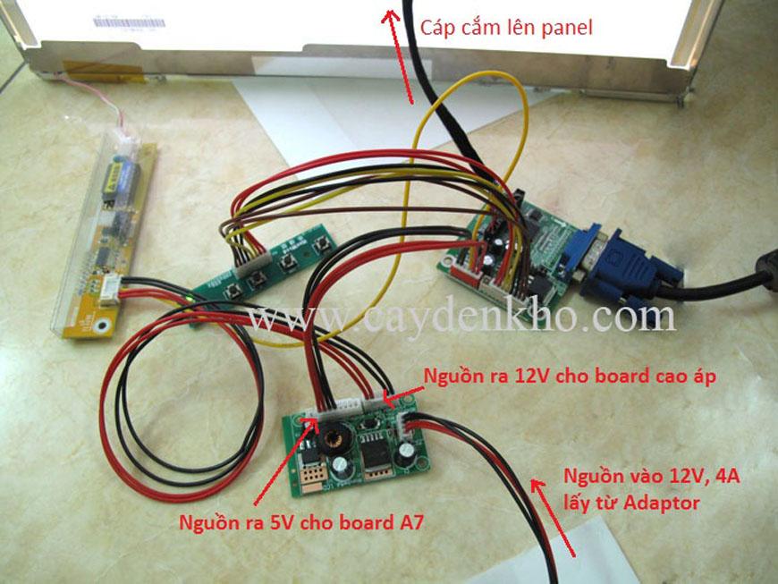 Board LCD A7
