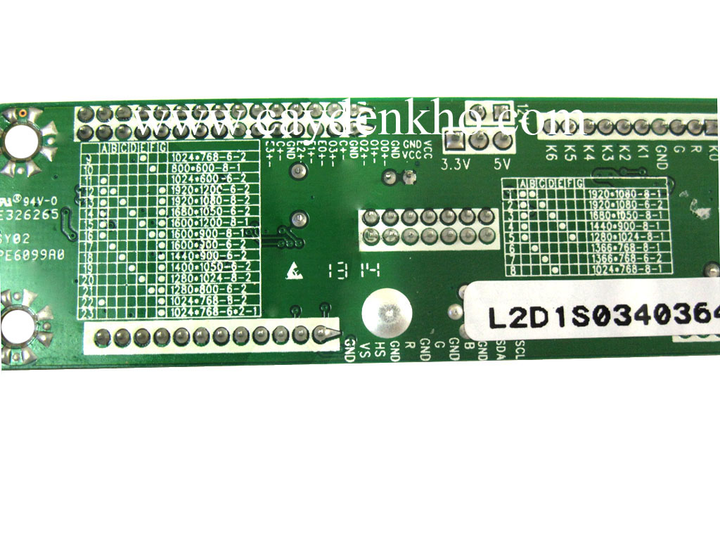 Board tin hieu LCD 6820