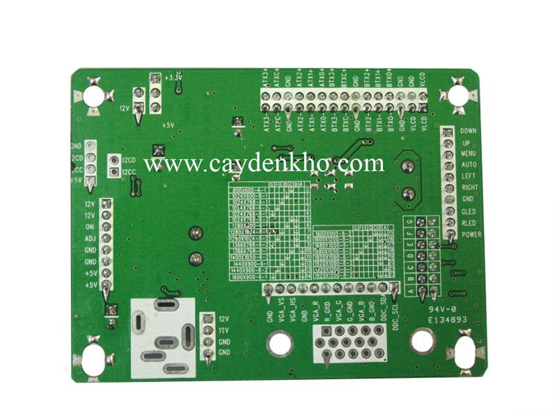 board LCD 6820