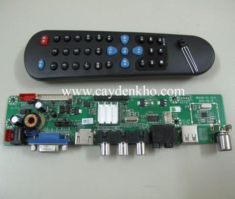 Board tivi LCD VX9 co HDMI (khong phai nap FW)