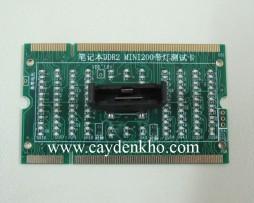 Test khe ram DDR2 Laptop